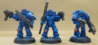 Alternative troops plus an extra Tactical marine who snuck into this batch.